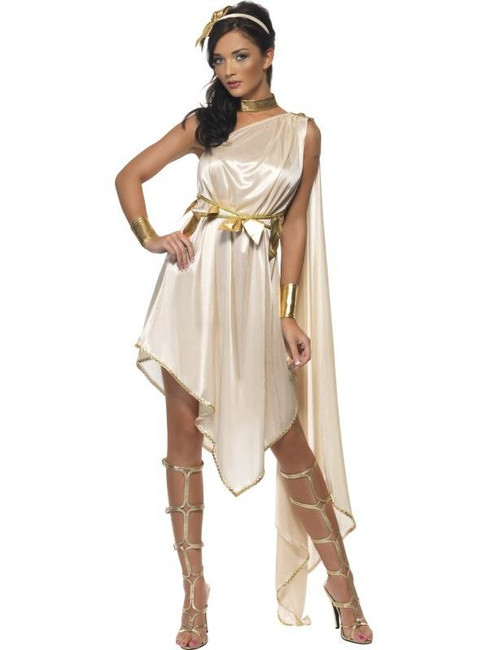 Fever Goddess Costume, UK Size 8-10