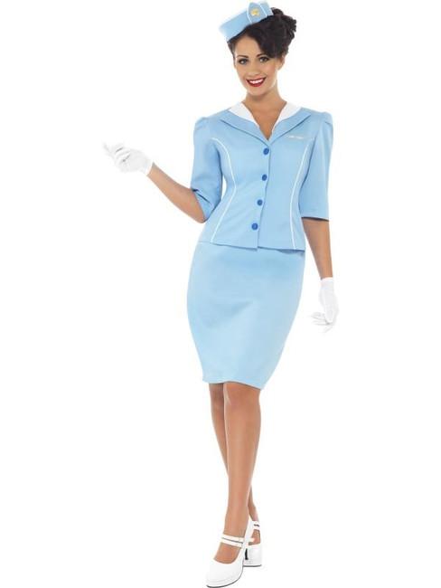 Air Hostess Costume, UK 8-10