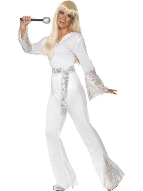 70s Disco Lady Costume, UK 12-14