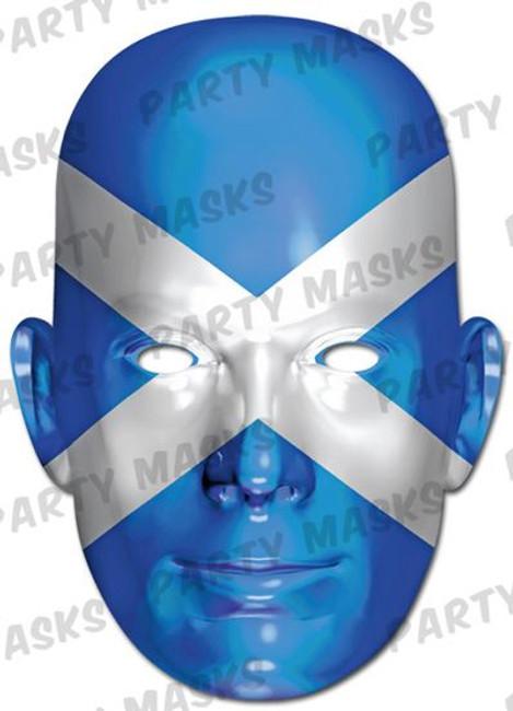Scotland Flag Card Mask