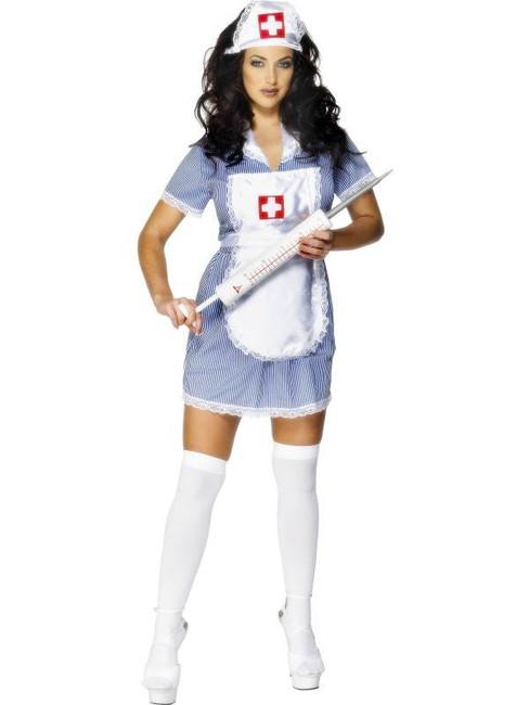 Nurse Naughty Costume, UK 20-22