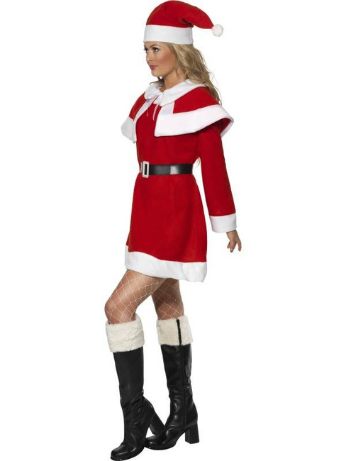Miss Santa Fleece Costume, UK 12-14