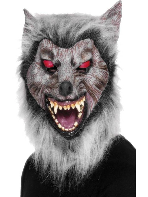 Prowler Wolf Mask, One Size