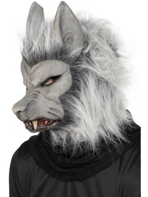 Werewolf Mask  Hair.  One Size