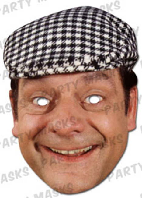 Del Boy Character Face Card Mask