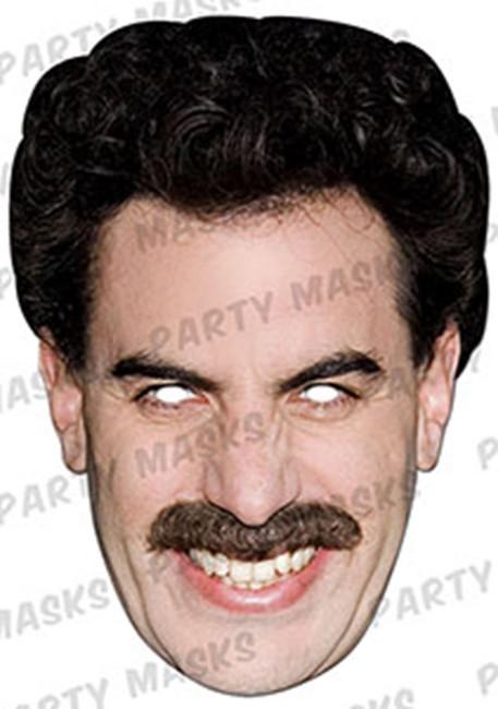 Borat Celebrity Face Card Mask