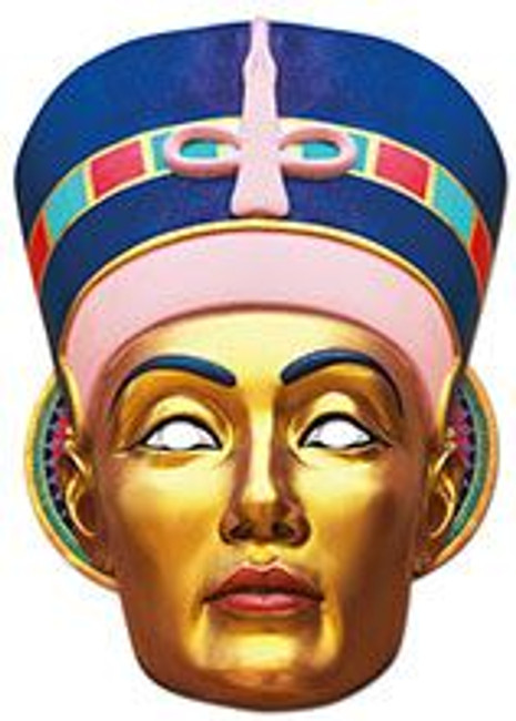 Egyptian Lady Heritage Face Card Mask