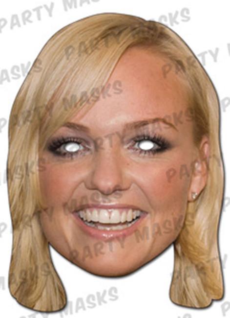 Emma Bunton Celebrity Face Card Mask