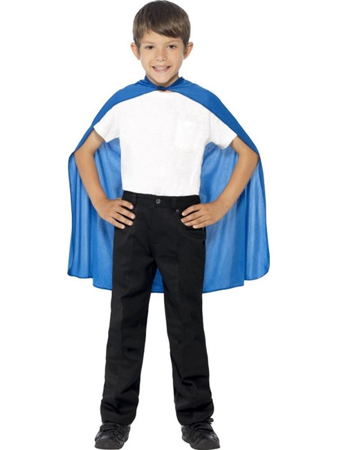 Blue Cape, Superhero, One Size