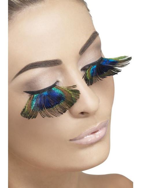 Eyelashes, Peacock Feathers