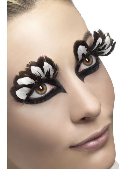 Eyelashes, Brown Feather