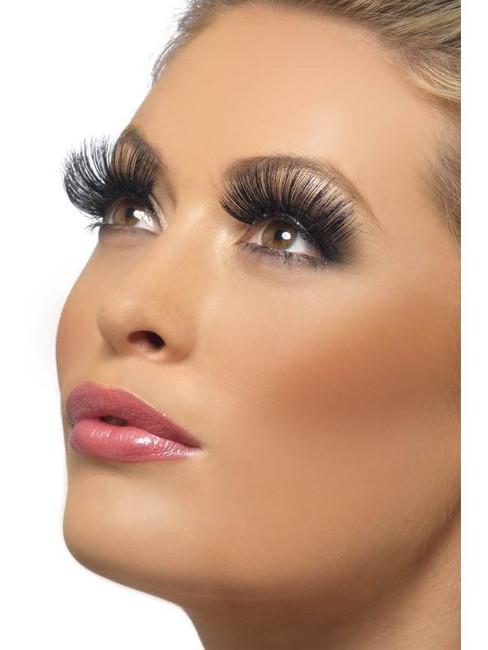60s Eyelashes, Human Hair