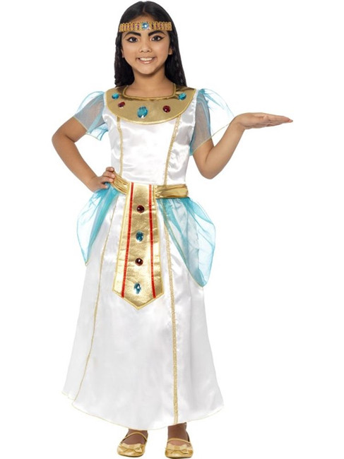 Deluxe Cleopatra Girl Costume, Medium Age 7-9