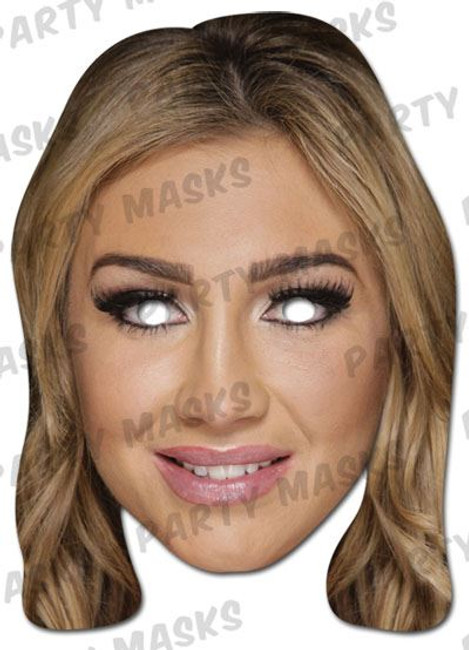 Lauren Goodger Celebrity Face Card Mask