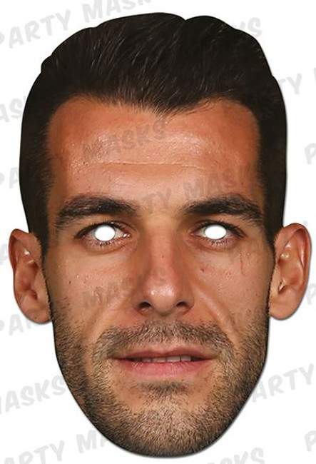 Alvaro Negredo Manchester City Card Mask