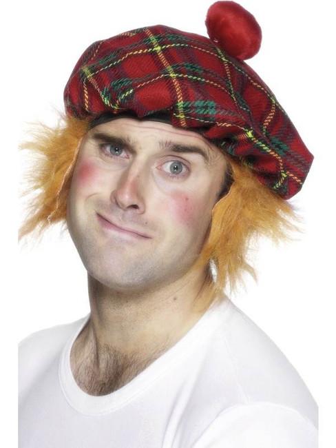 Scottish Tam-O-Shanter Tartan Hat