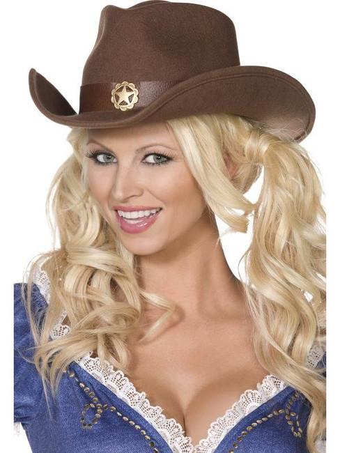 Fever Boutique Wild West Cowboy Hat