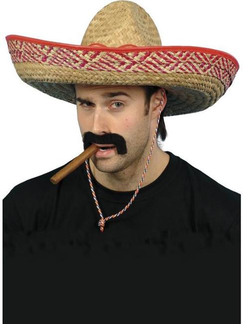 Mexican Sombrero Straw Hat