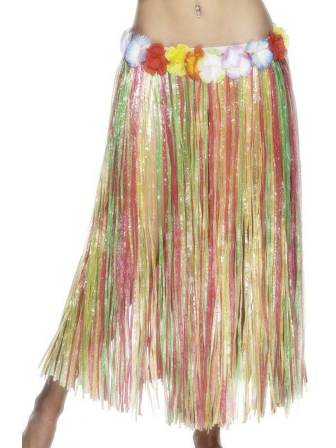 Hawaiian Hula Skirt.  One Size
