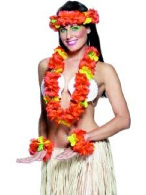 Hawaiian Set Red.