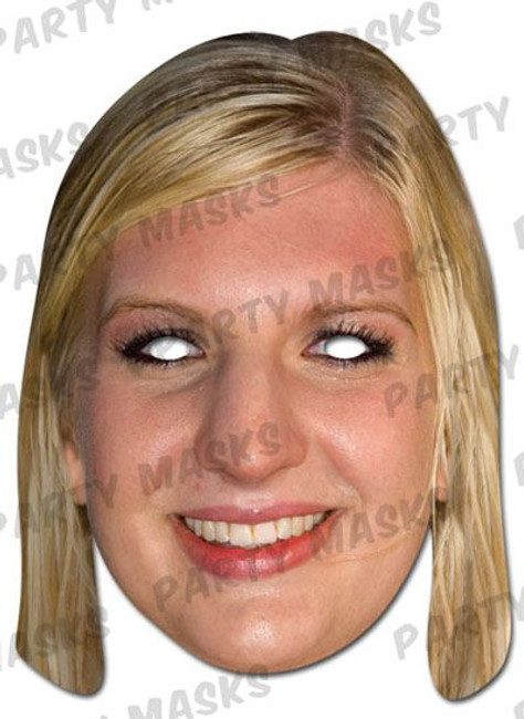 Rebecca Adlington Celebrity Face Card Mask