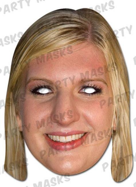 Rebecca Adlington Celebrity Face Card Mask