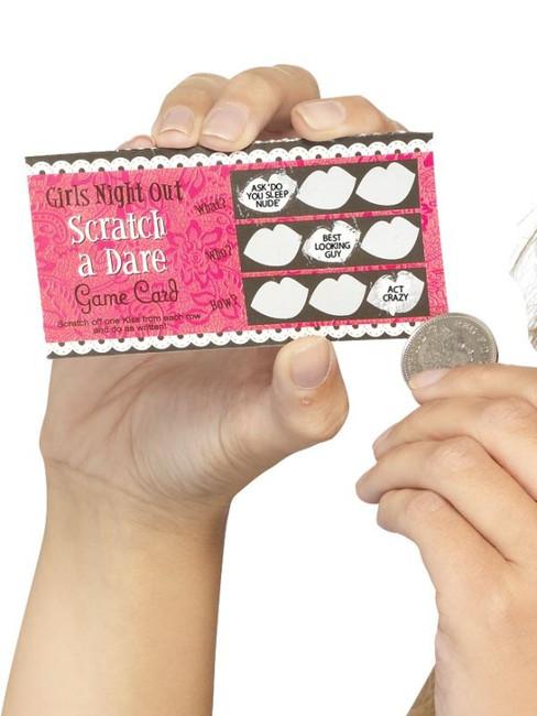 Hen Night Dare Scratch Cards, 6.
