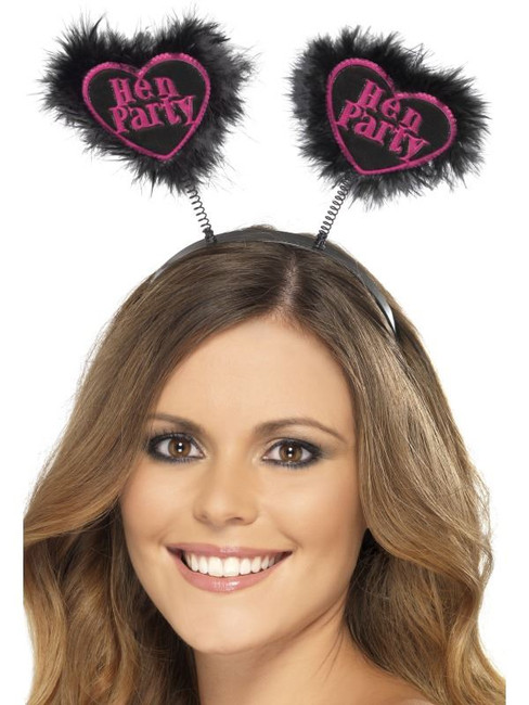 Hen Party Love Heart Boppers.