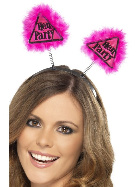 Hen Party Warning Boppers, One Size