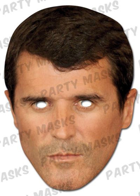 Roy Keane Celebrity Face Card Mask