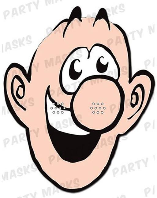Johnny Fartpants Card Mask