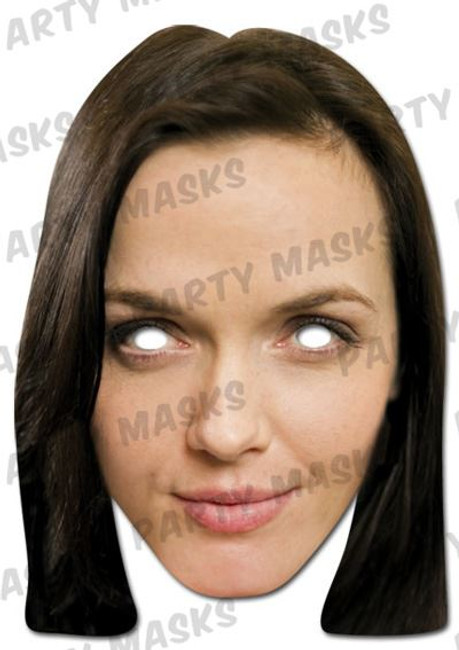 Victoria Pendleton Celebrity Face Card Mask