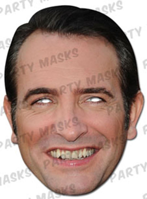 Jean Dujardin Celebrity Face Card Mask