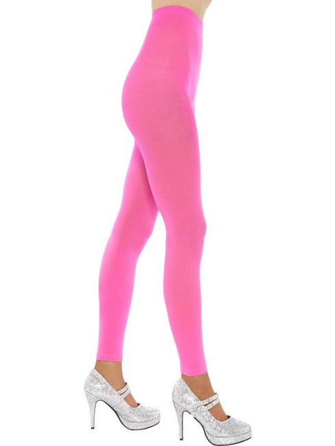 Footless Tights, Pink, One Size