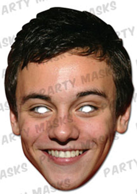 Tom Daley Celebrity Face Card Mask