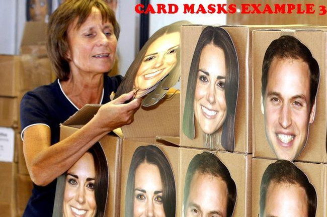 Andrew Murray Celebrity Face Card Mask