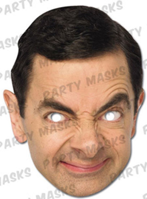 Mr. Bean Celebrity Face Card Mask