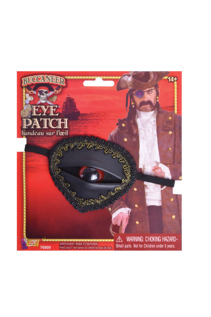 Buccaneer Eyepatch with Eye