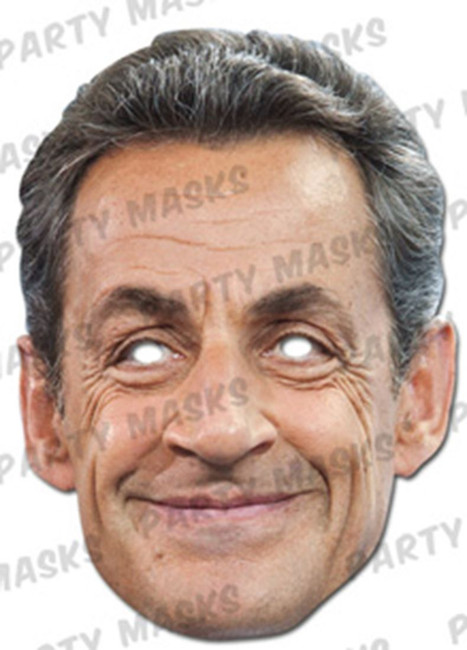 Nicolas Sarkozy Celebrity Face Card Mask