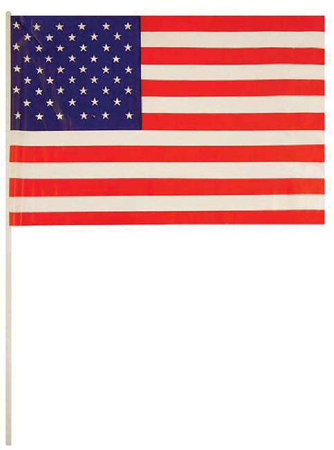 USA Hand Waving Flag 29x17cm