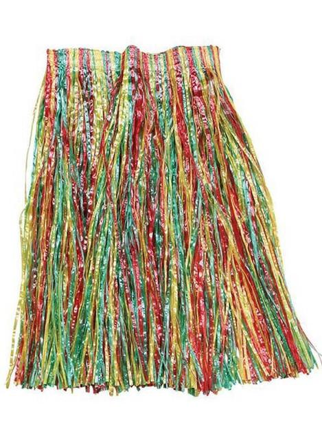 Grass Skirt. Multi Coloured .