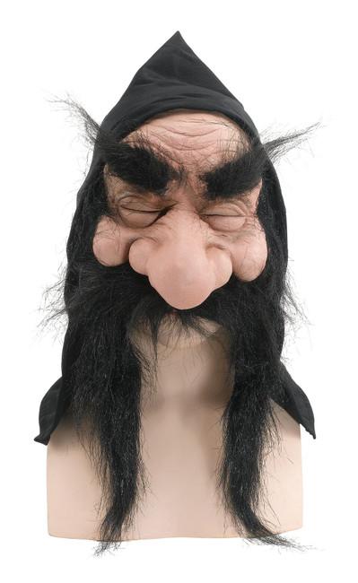 Gnome With Hood/Beard Black