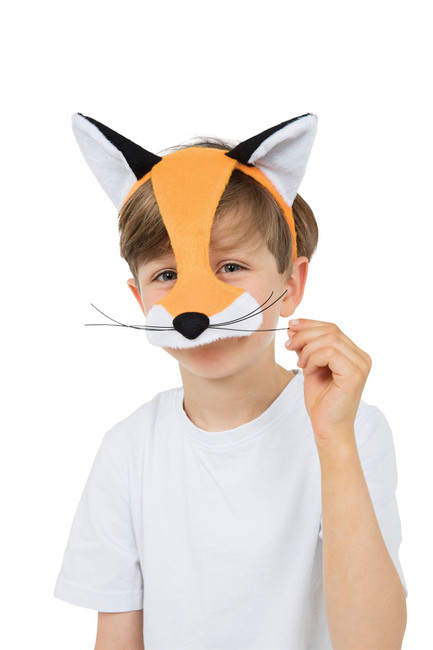 Fox Half Face Eye Mask