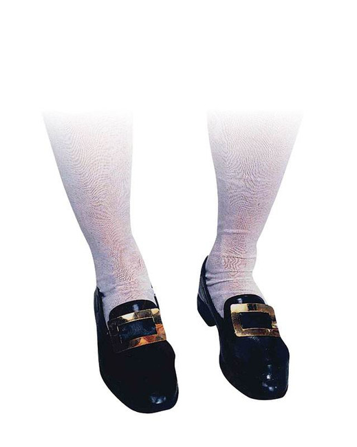 White Adult Knee Socks, Fancy Dress, Accessory, Accessories