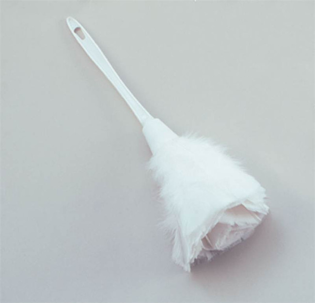 Feather Duster, White,  French Maid Fancy Dress Accessory