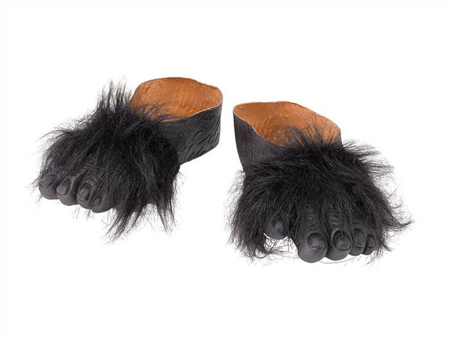 GORILLA FEET, FANCY DRESS ACCESSORY