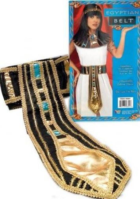 CLEOPATRA EGYPTIAN DELUXE BELT, FANCY DRESS