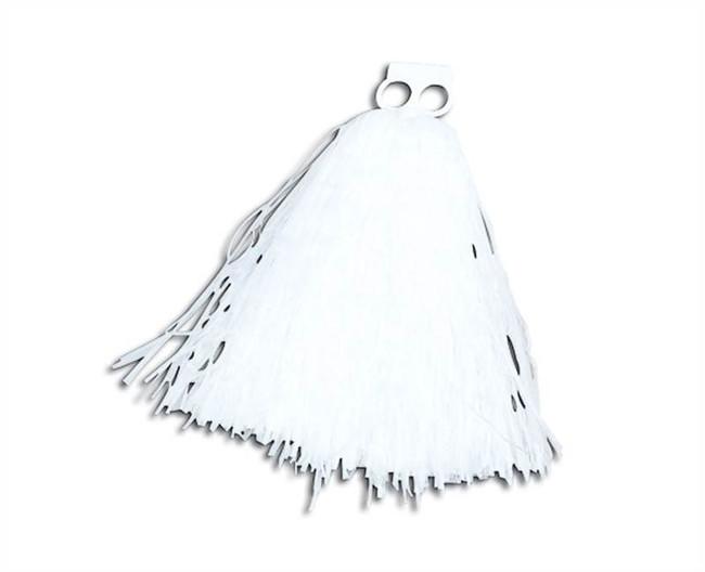 Small WHITE Pom Pom, Poms Sold Singularly, Cheerleader/High School Fancy Dress