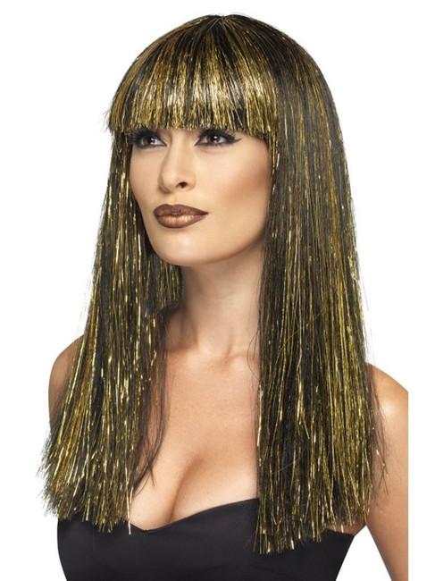 Egyptian Goddess Wig, Tomb of Doom Fancy Dress