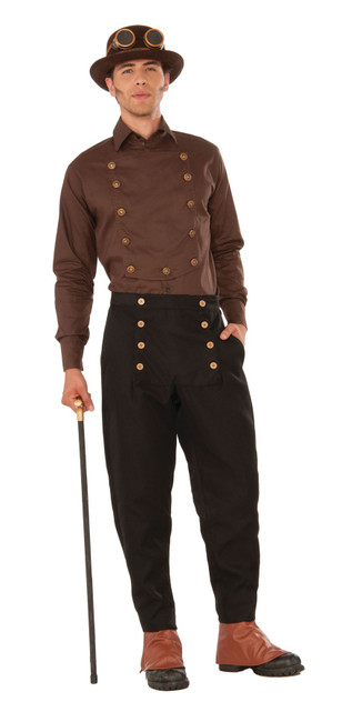 Steampunk Shirt Brown